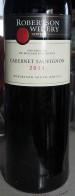 Cabernet Sauvignon ( Robertson Winery )