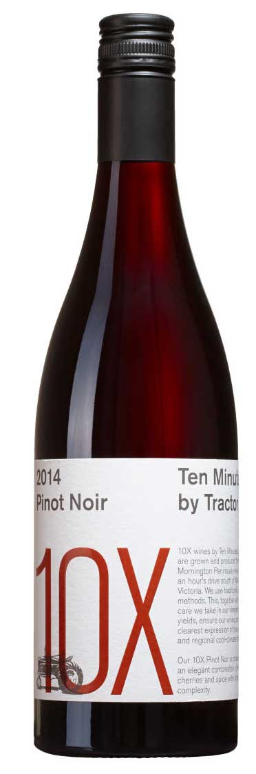 10X Pinot Noir ( Ten Minutes by Tractor ) 2015