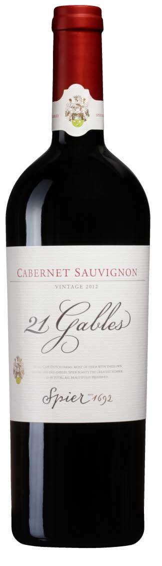 21 Gables Cabernet Sauvignon ( Spier ) 2012