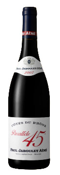 Côtes du Rhône Parallèle `45` ( Paul Jaboulet Aine ) 2001