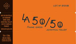 La 50-50 ( Domaine Anne Gros et Jean-Paul Tollot ) 2014