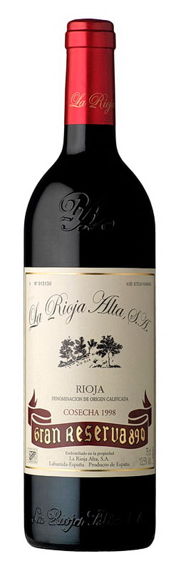 La Rioja Alta Gran Reserva 890 ( la Rioja Alta ) 2004