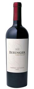 Beringer Cabernet Sauvignon ( Beringer Vineyards ) 2004