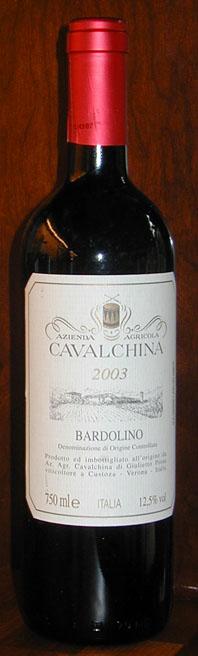 Bardolino ( Cavalchina ) 2003