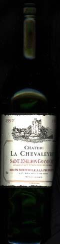 Chateau La Chevaleyre 1992