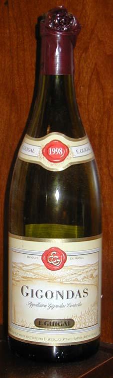 Gigondas ( E. Guigal ) 1998