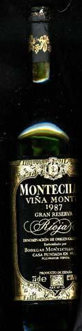 Montecillo Gran Reserva ( Osborne Wines ) 1987