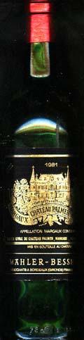 Château Palmer ( Château Palmer ) 1981