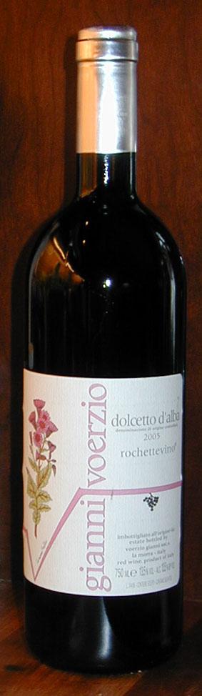 Dolcetto d`alba Rochettevino ( Gianni Voerzio ) 2005