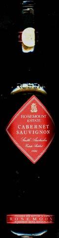 Cabernet Sauvignon ( Rosemount ) 1995