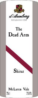 The Dead Arm Shiraz ( D`Arenberg ) 2003