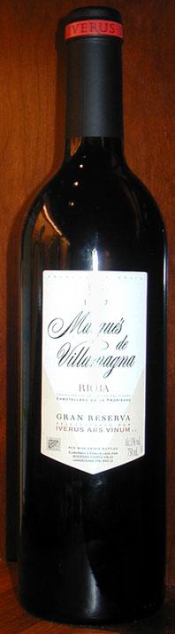 Marqués de Villamagna Gran Reserva ( Campo Viejo ) 1997