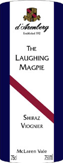 The Laughing Magpie  Shiraz Viognier ( D`Arenberg ) 2006