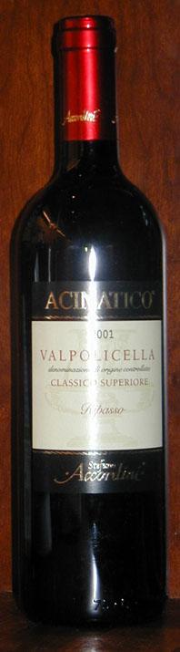 Valpolicella Classico Superiore Ripasso Acinatico ( Accordini ) 2011