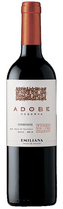 Adobe Reserve Carmenère ( Vinedos Organicos Emiliana ) 2015