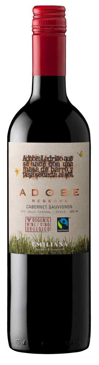 Adobe Reserve Cabernet Sauvignon ( Vinedos Organicos Emiliana ) 2018