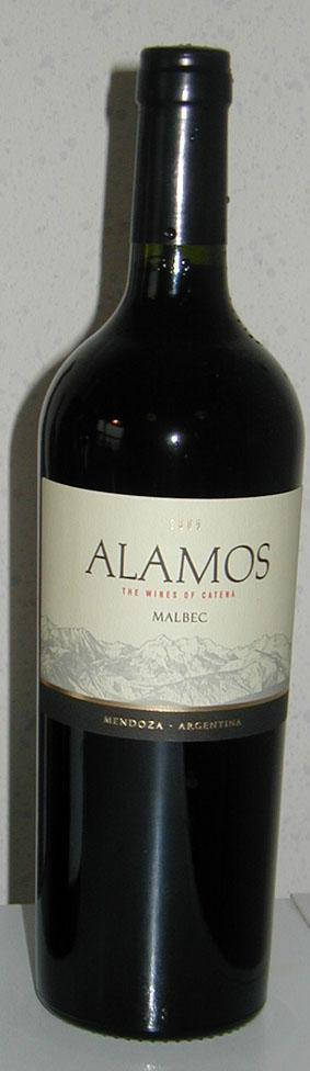 Alamos Malbec ( Catena Zapata ) 2009
