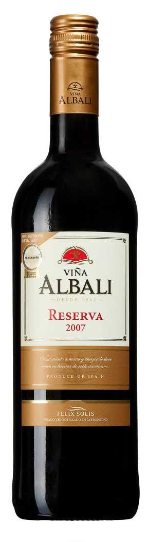 Viña Albali Reserva ( Felix Solis ) 2010