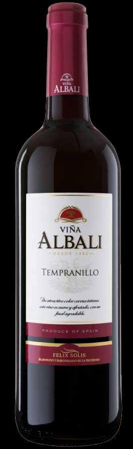 Viña Albali Tempranillo ( Felix Solis ) 2014