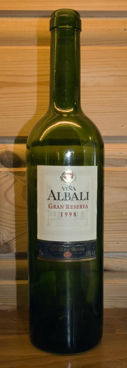 Viña Albali Gran Reserva ( Felix Solis ) 1998