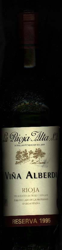 Vina Alberdi Reserva ( la Rioja Alta ) 2009