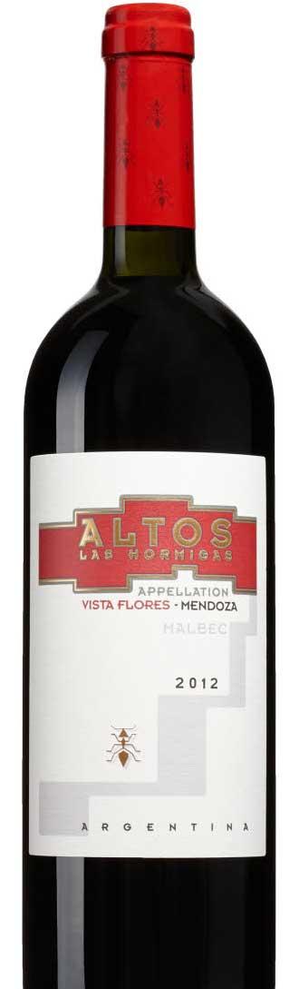 Vista Flores Malbec ( Altos Las Hormigas ) 2012