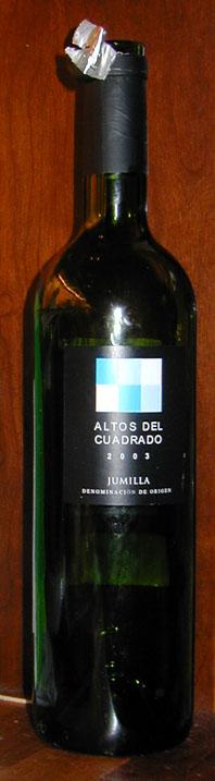 Altos del Cuadrado ( Bodegas Castaño ) 2003
