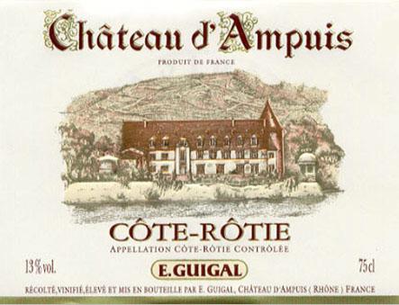 Côte Rôtie Ch. D`Ampuis ( E. Guigal ) 2003