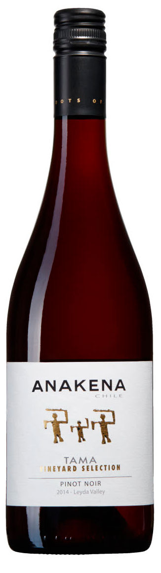 Tama Vineyard Selection Pinot Noir ( Anakena Wines ) 2014