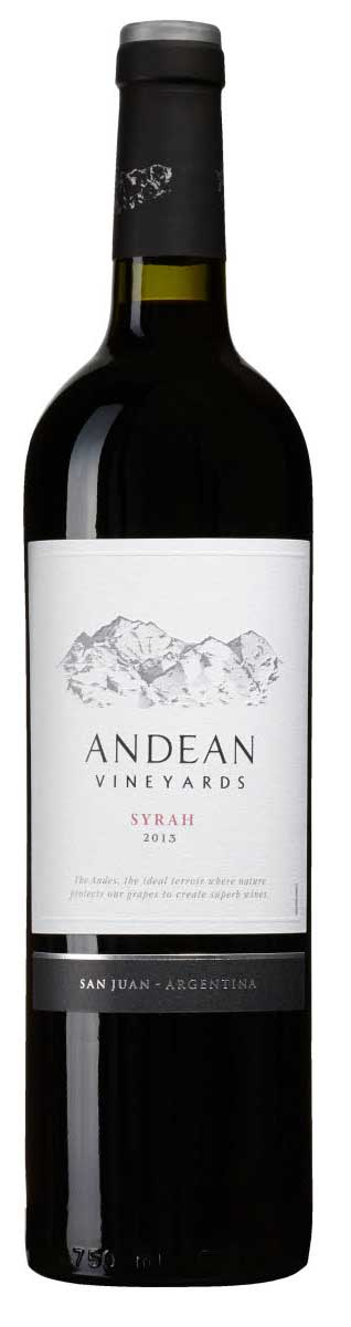 Syrah ( Andean Vineyards ) 2015