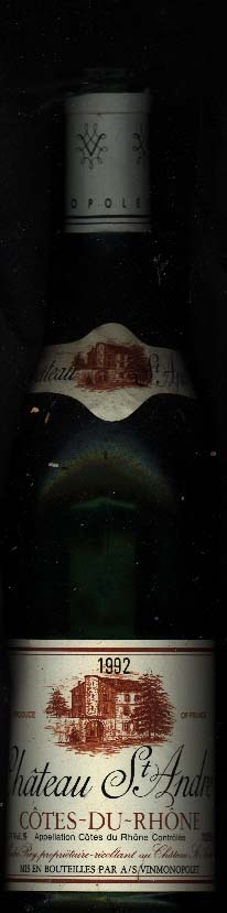 Chateau St. Andre ( Caves St. Pierre ) 1992