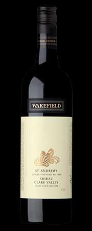 St. Andrewès Shiraz ( Wakefield Wines ) 2012