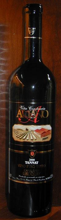 Tannat Constancia ( Ariano Hermanos ) 2000