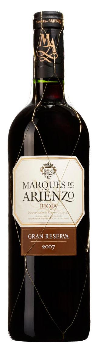 Marqués de Arienzo Gran Reserva ( Marqués de Riscal ) 2008