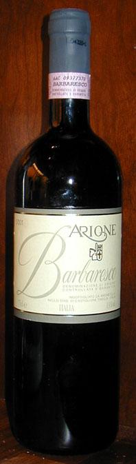 Barbaresco ( Arione ) 2001