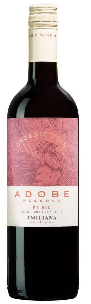 Adobe Reserva Malbec ( Vinedos Organicos Emiliana ) 2015