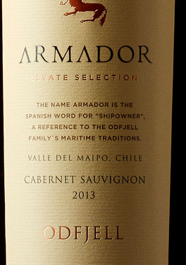 Armador Cabernet Sauvignon ( Odfjell Vineyards ) 2015