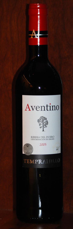Aventino Tempranillo ( Bodegas Santa Ana ) 2005