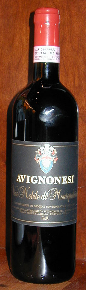 Vino Nobile di Montepulciano ( Avignonesi ) 2007
