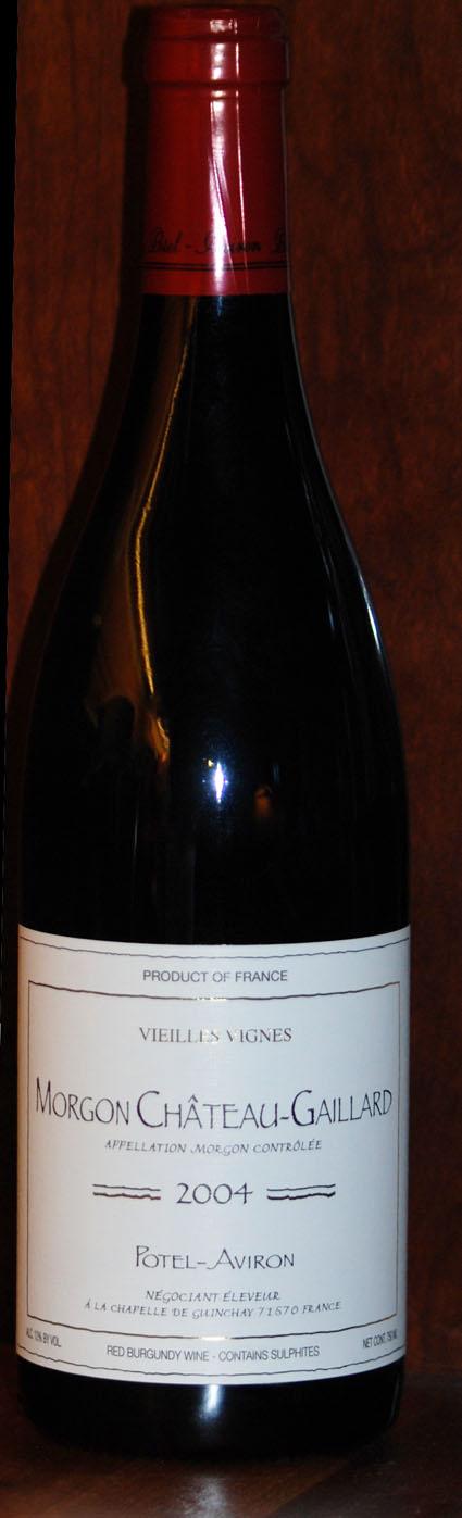Morgon Ch. Gaillard Vieilles Vignes ( Potel-Aviron ) 2004