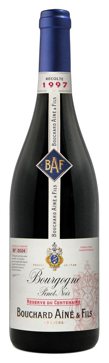 Bourgogne Pinot Noir Reserve du Centenaire ( Bouchard Aîné and Fils ) 1998