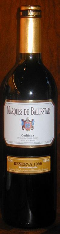 Marqués de Ballestar ( Covinca ) 1999