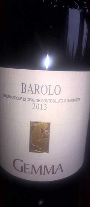 Barolo ( Azienda Agricola Gemma ) 2010