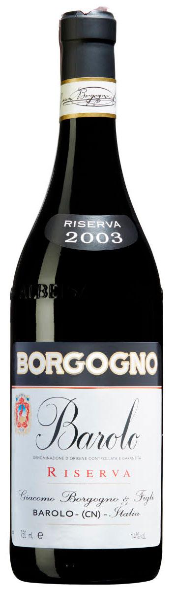 Barolo Riserva ( Giacomo Borgogno ) 2003