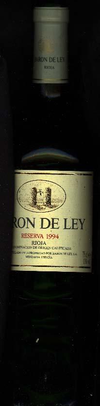 Reserva ( Barón de Ley ) 1994