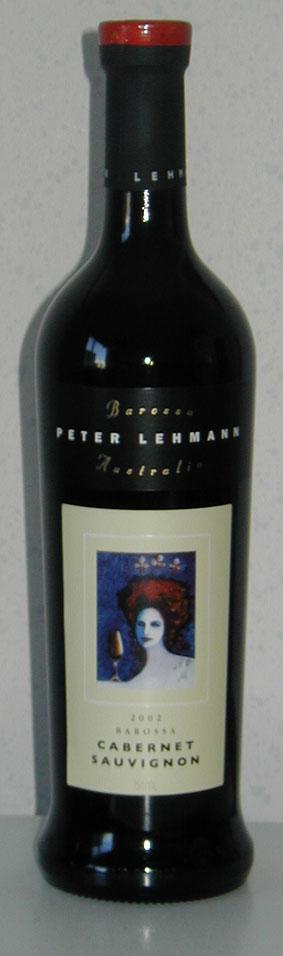 Barossa Cabernet Sauvignon ( Peter Lehmann ) 2001