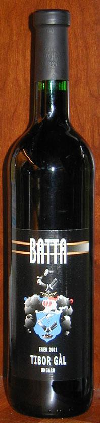 Batta Cuvée ( Tibor Gál ) 2001