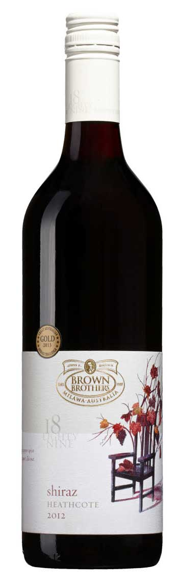 Shiraz ( Brown Brothers ) 2012
