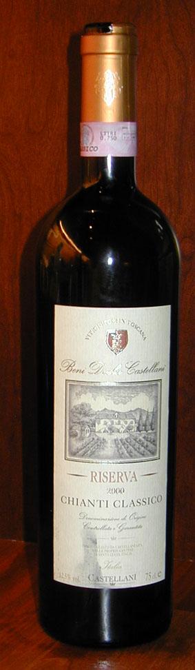 Chianti Classico Riserva ( Castellani ) 2000
