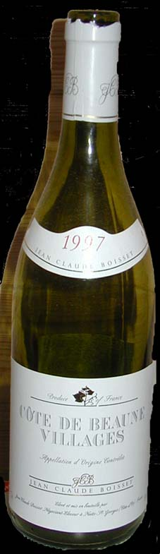 Côte de Beaune-Villages ( Louis Jadot ) 1997